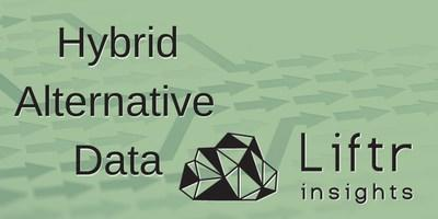 Liftr Insights products serve as a model for hybrid alternative data where neither traditional market intelligence nor alternative data will suffice