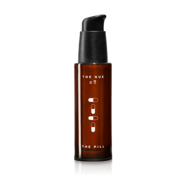 """<h3>The Nue Co. The Pill</h3> <br>""""My skin is already very breakout-prone, and things like stress and humidity tend to send my complexion into a tailspin. Throw in necessary mask-wearing, and you've got a recipe for the clusters of zits on my chin and jawline. While many beauty supplements I've tried rarely live up to the lofty claims of glowy, clear skin, I was shocked when I started to notice fewer pimples and irritation within a week of using the Nue Co.'s first topical skin-care product, The Pill, in tandem with the Skin Filter capsules. The serum contains AHAs to gently exfoliate, plus hyaluronic acid to soothe and hydrate. It's not fragranced, so the natural (vaguely fermented) scent takes some getting used to, but it's well worth it for the gentle, yet effective results."""" — Hoshikawa<br><br><strong>The Nue Co.</strong> The Pill, $, available at <a href=""""https://go.skimresources.com/?id=30283X879131&url=https%3A%2F%2Ffave.co%2F3gyhdwA"""" rel=""""nofollow noopener"""" target=""""_blank"""" data-ylk=""""slk:The Nue Co"""" class=""""link rapid-noclick-resp"""">The Nue Co</a><br>"""