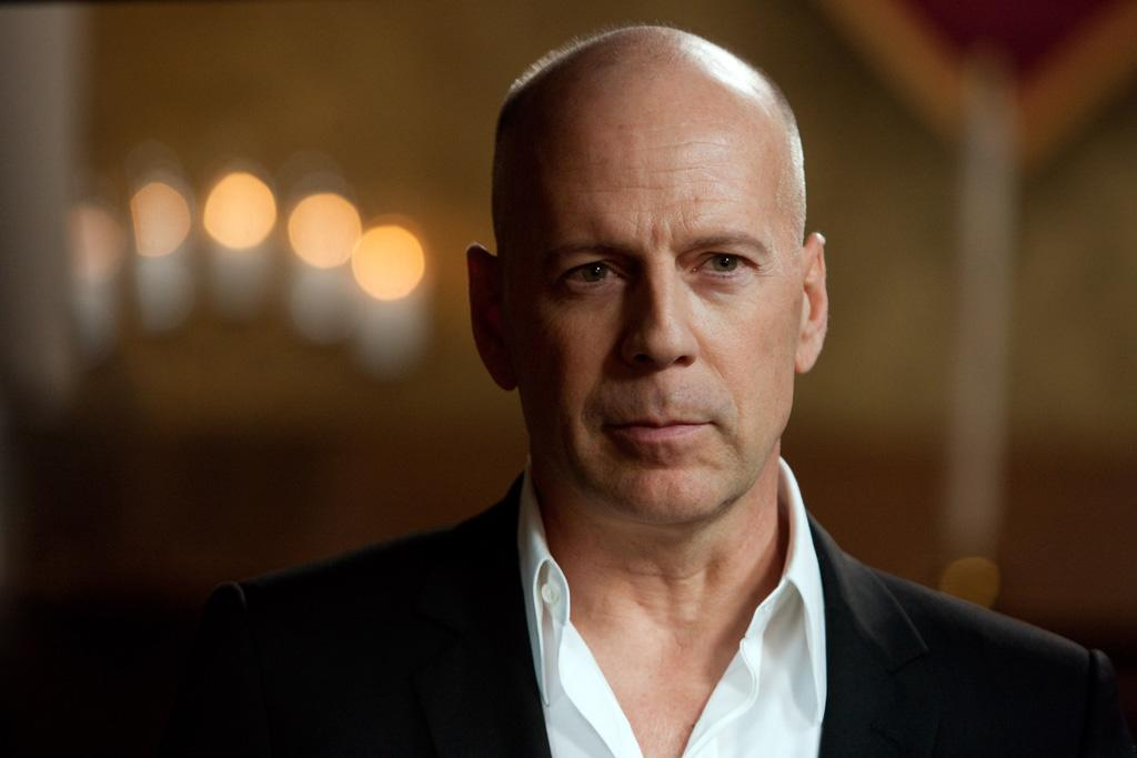 """<a href=""""http://movies.yahoo.com/movie/contributor/1800018749"""">BRUCE WILLIS</a>  Age: 55  Year of First Film Appearance: 1982  Number of Oscar Nominations: 0  Total Domestic BO Gross: $2,638,266,221   In 2006, Bruce Willis was named an Officier Dans L'ordre Des Arts Et Des Lettres (Officer in the Order of Arts and Letters) by the Minister of Culture of France, who said Willis """"represents the force of American cinema."""""""