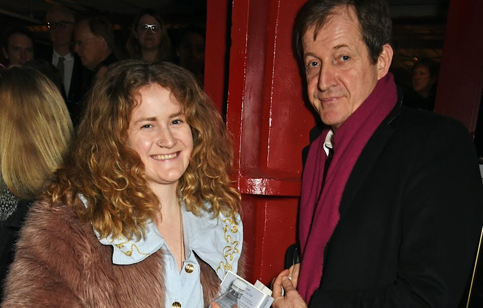 Grace and Alastair Campbell (Getty Images)