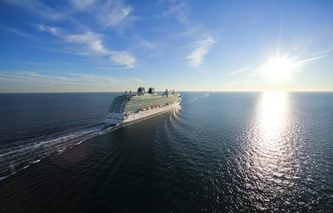 Britannia at sea - Credit: P&O Cruises