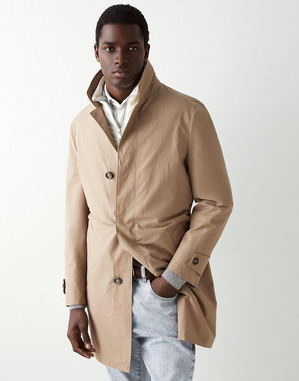 """<p><strong>selected</strong></p><p>brunellocucinelli.com</p><p><strong>$4995.00</strong></p><p><a href=""""https://shop.brunellocucinelli.com/en-us/men/ready-to-wear/coats-jackets/3-in-1-outerwear-jacket-212MQ4206450.html"""" rel=""""nofollow noopener"""" target=""""_blank"""" data-ylk=""""slk:Shop Now"""" class=""""link rapid-noclick-resp"""">Shop Now</a></p><p>""""A coat never fails to impress. It's a gift that lasts a lifetime, and this sporty jacket by the venerable Italian label Brunello Cucinelli is not just a practical staple, but an elegant addition to dad's wardrobe, one that might look particularly smashing during that road trip through the Amalfi Coast that's long been on his bucket list.""""—<em>Erik Maza, Style Features Director</em></p>"""