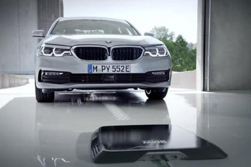 BMW Introducing Wireless Induction Charging Mat