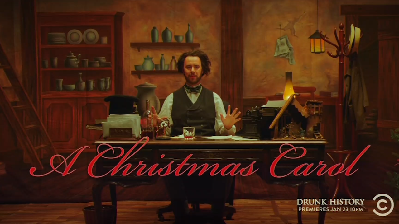 Drunk History Christmas.These Drunk History Stories Will Get You In The Christmas Spirit