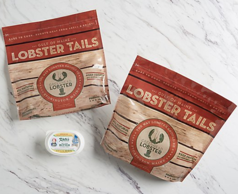 These easy-to-cook lobster tails come from Stonington, Maine. (Photo: QVC)