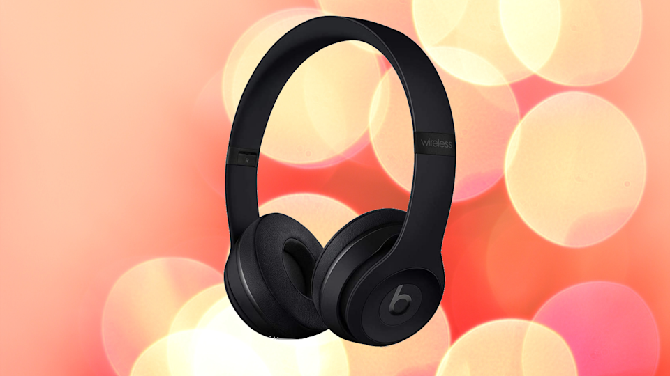 You can't Beat these Beats Solo3 Wireless On-Ear Headphones at 40 percent off. (Photo: Amazon)