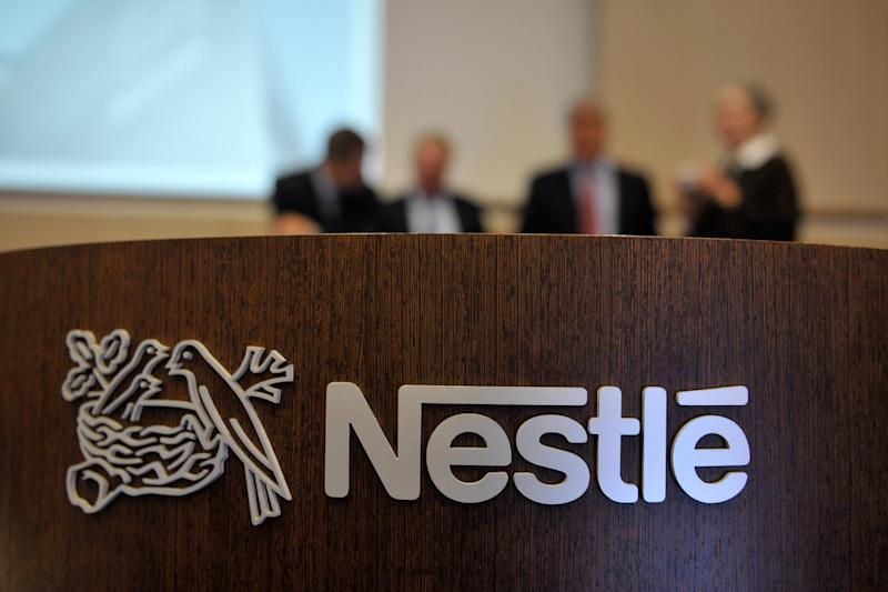 Nestle sales growth eases as global economy cools