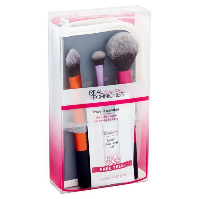"""<p>For how great of quality Real Techniques' brushes are, this set is a steal. ($9.98; <a href=""""https://www.walmart.com/ip/Real-Techniques-Travel-Essentials-Brush-Set-with-2-in-1-Case-Stand/21097856"""" rel=""""nofollow noopener"""" target=""""_blank"""" data-ylk=""""slk:walmart.com"""" class=""""link rapid-noclick-resp"""">walmart.com</a>)</p><p><strong><a href=""""https://www.walmart.com/ip/Real-Techniques-Travel-Essentials-Brush-Set-with-2-in-1-Case-Stand/21097856"""" rel=""""nofollow noopener"""" target=""""_blank"""" data-ylk=""""slk:BUY NOW"""" class=""""link rapid-noclick-resp"""">BUY NOW</a></strong><br></p><p><strong>RELATED: <a href=""""http://www.redbookmag.com/beauty/tips/g3615/when-to-throw-away-makeup/"""" rel=""""nofollow noopener"""" target=""""_blank"""" data-ylk=""""slk:When It's Time to Throw Away Your Beauty Products"""" class=""""link rapid-noclick-resp"""">When It's Time to Throw Away Your Beauty Products</a></strong><br></p>"""
