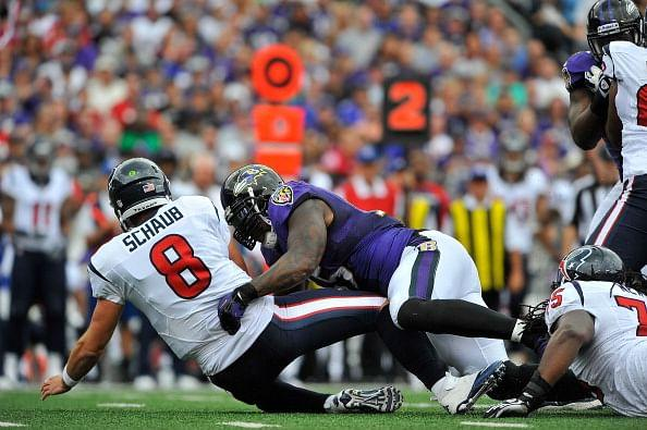 Houston Texans v Baltimore Ravens