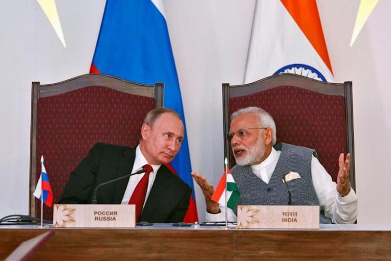 India, Russia Decide to Cooperate With Each Other to Deal With Coronavirus Pandemic