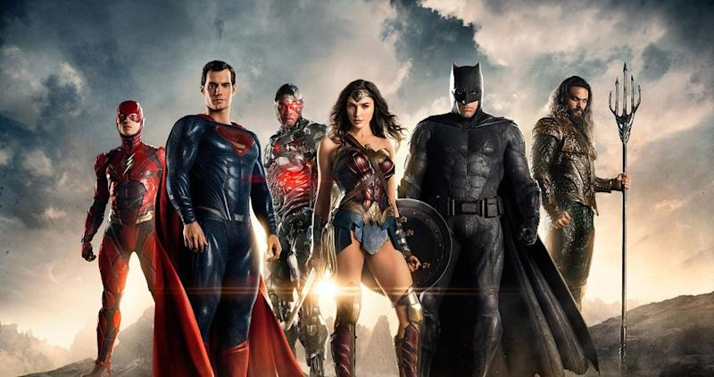 Someone's clearly missing from this Justice League line-up... (credit: Warner Bros)