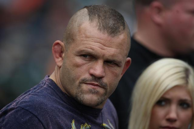 48-year-old UFC legend Chuck Liddell is ready to come out of retirement, and is targeting a November fight against Tito Ortiz. (Photo by Jed Jacobsohn/Getty Images)