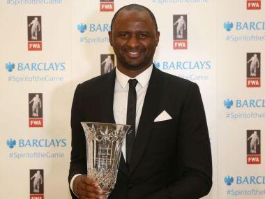 Vieira was a cornerstone of Wenger's first decade at Arsenal, and was captain during the Gunners' famous 'Invincibles' unbeaten season in 2004.