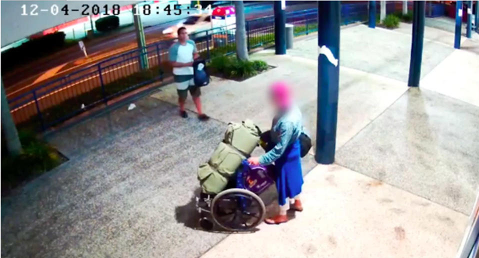 Hunt for man after homeless Goodna Queensland woman was attacked near St Ives shopping centre.