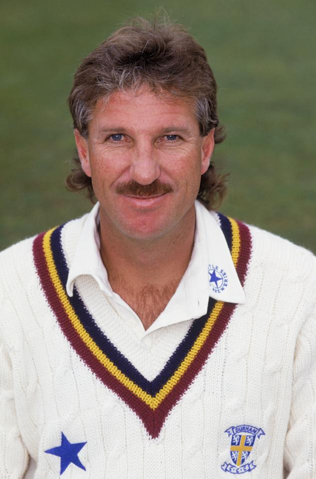 English cricketer Ian Botham during his time at Durham C.C.C., 1992. (Photo by Mike Hewitt/Getty Images)