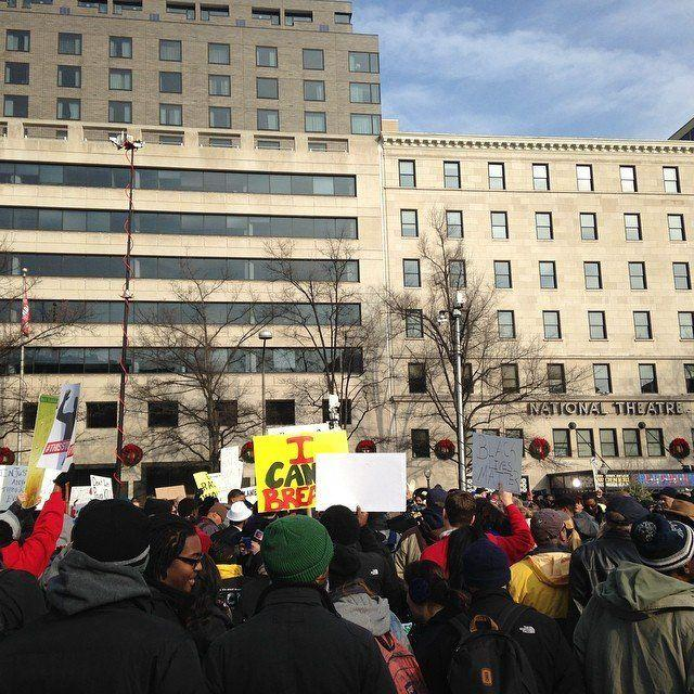 Protesters in Washington, D.C., on Dec. 13, 2014.