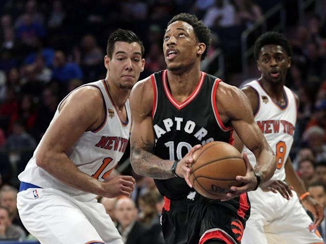 DeMar DeRozan has had the best regular season of his career. (AP)