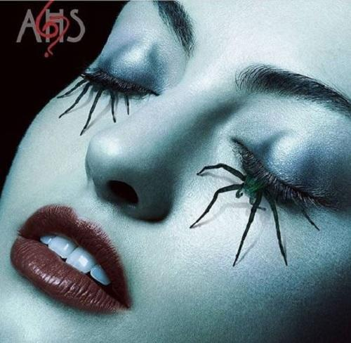 Here are all the products used to make that terrifying spider eye makeup in the AHS promos