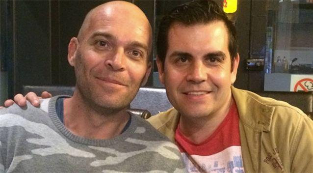Ben Rogers and Mark Poidevin say they don't want to get married. Source: Facebook