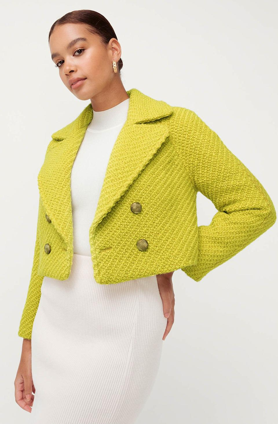 Highlight Coat, $99, down from $189.95