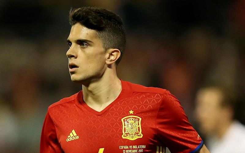 Spain international Marc Bartra - Credit: PA
