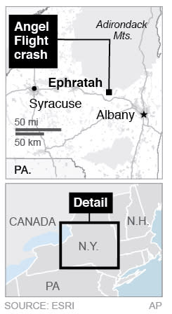 Map locate Ephratah, New Yrok.