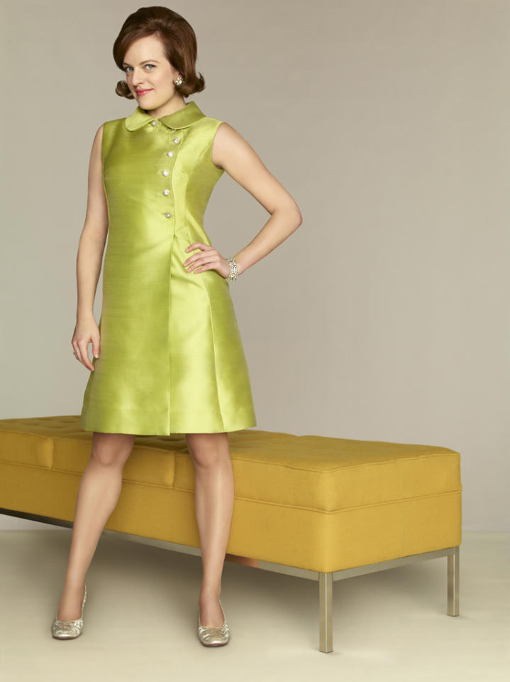 """Elisabeth Moss stars as Peggy Olson in """"<a target=""""_blank"""" href=""""http://tv.yahoo.com/mad-men/show/39828"""">Mad Men</a>."""""""