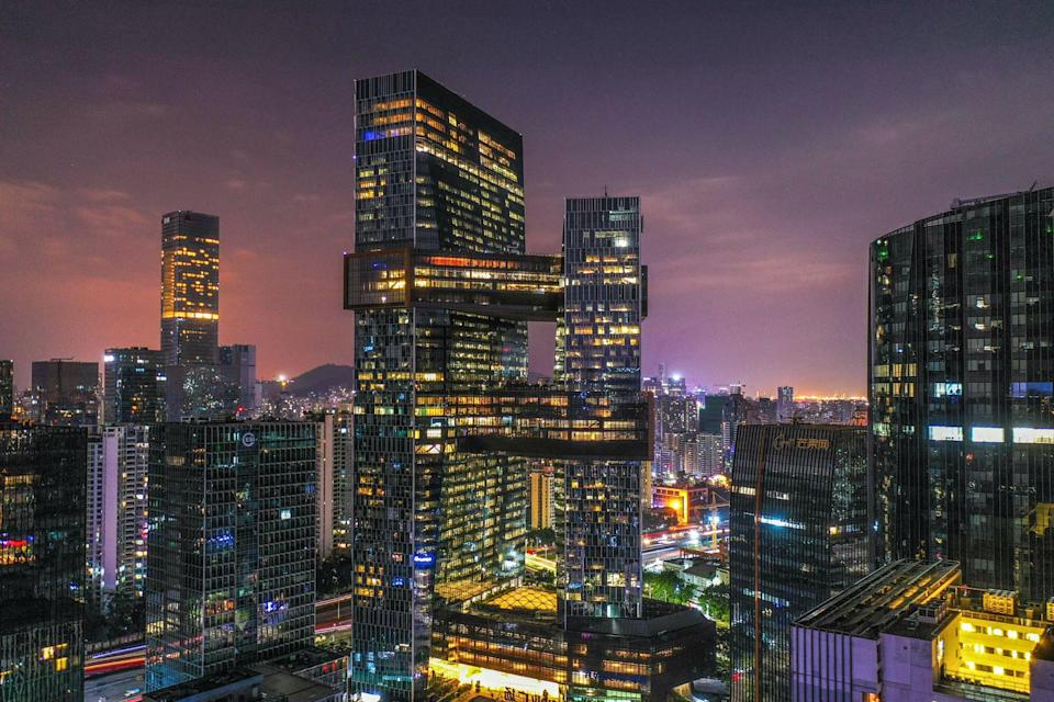 Shenzhen is home to some of China's leading tech companies, including Tencent. Photo: Xinhua