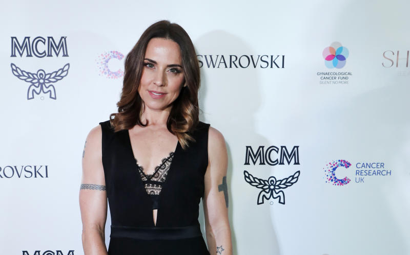 LONDON, ENGLAND - NOVEMBER 28: Melanie C attends the Lady Garden Gala in aid of Silent No More Gynaecological Cancer Fund and Cancer Research UK at Claridge's Hotel on November 28, 2017 in London, England. (Photo by David M. Benett/Dave Benett/Getty Images)