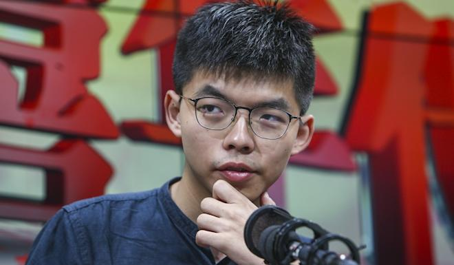 Joshua Wong, co-founder of Demosisto. Photo: Winson Wong