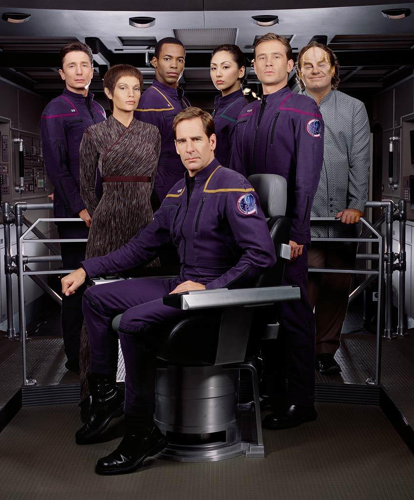 """Before Picard, Kirk or Spock... there was <a href=""""/enterprise/show/30255"""" data-ylk=""""slk:&quot;Enterprise&quot;"""" class=""""link rapid-noclick-resp"""">""""Enterprise""""</a> (2001-2005). Set over a hundred years before the original series, this show took things back to the rocky origins of the Star Trek universe, before the establishment of many of the concepts and conventions Trek fans knew and loved. With Scott Bakula as Jonathan Archer in the Captain's chair, it was an attempt to steer the franchise back to the wonder, mystery and danger of interstellar space exploration."""