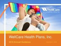 WellCare Issues 2019 Annual Guidance