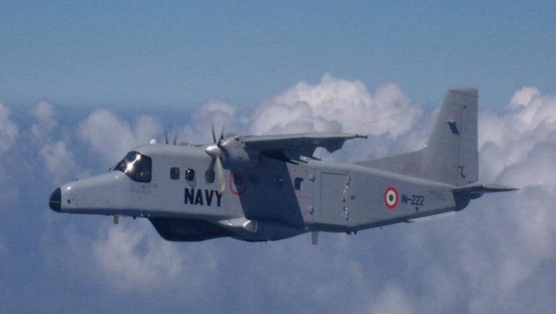 Indian Navy Commissions 5th Dornier Aircraft Squadron at Naval Air Enclave in Chennai