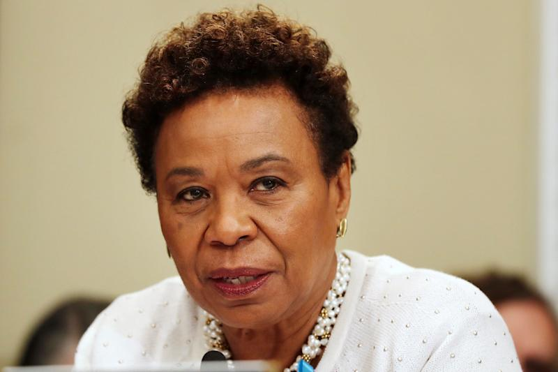 Rep. Barbara Lee (D-Calif.) is running to lead the House Democratic Caucus. She said there's never been an African-American woman elected to leadership. (Photo: ASSOCIATED PRESS)