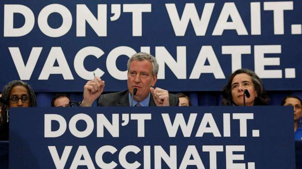Brooklyn parents sue to stop mandatory measles vaccinations
