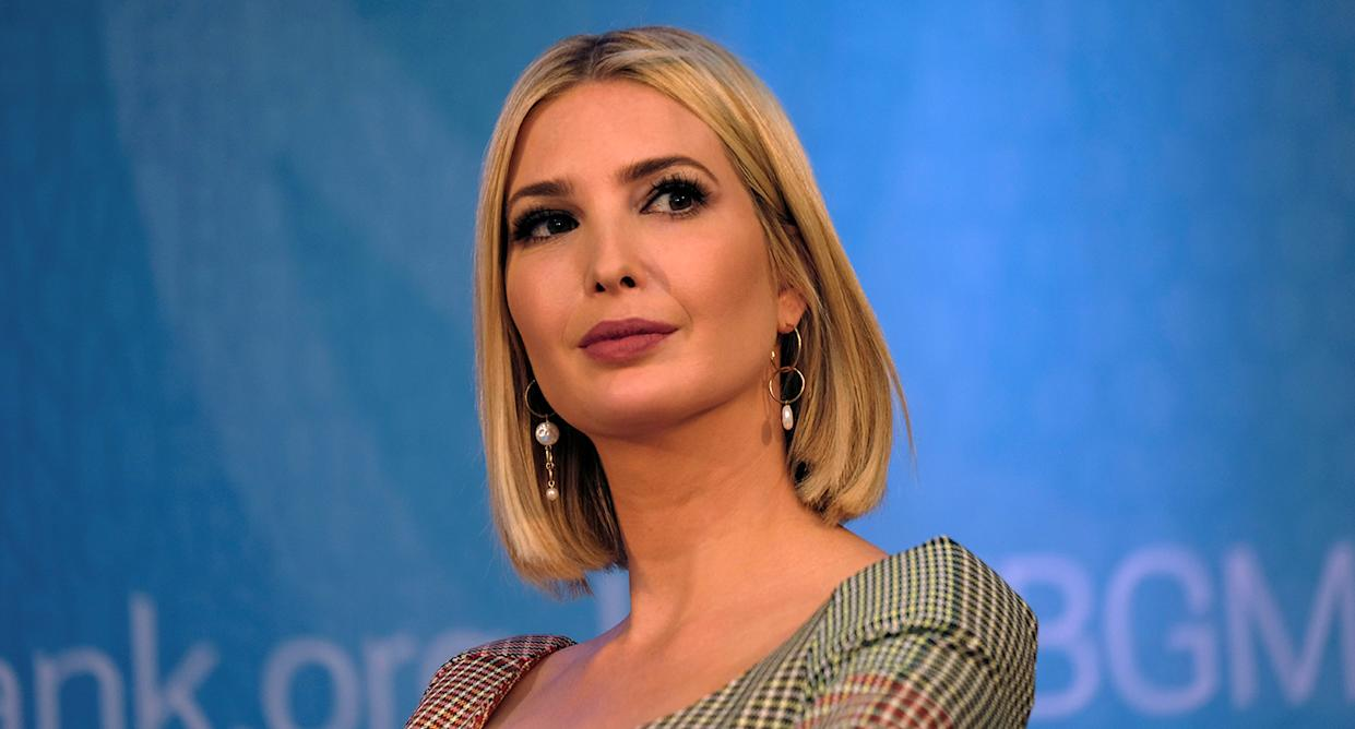 Ivanka Trump. (Photo: James Lawler Duggan /Reuters)