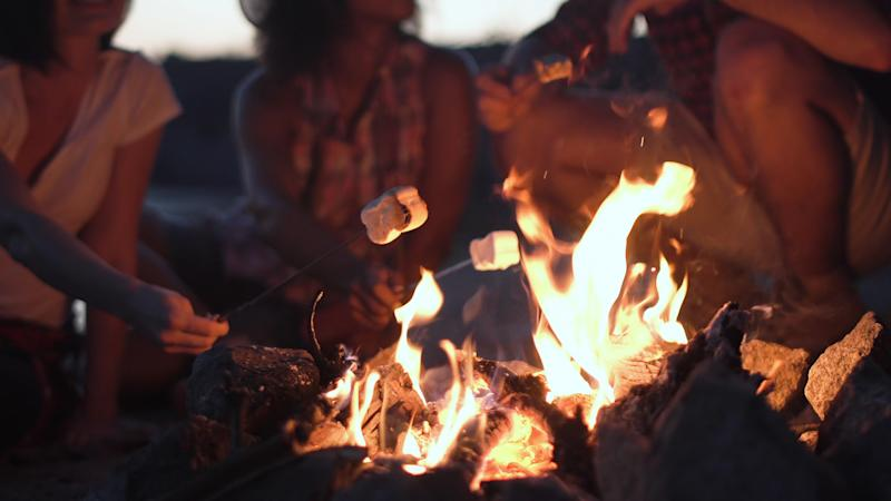 How do you like your marshmallows toasted? [Photo: Getty]