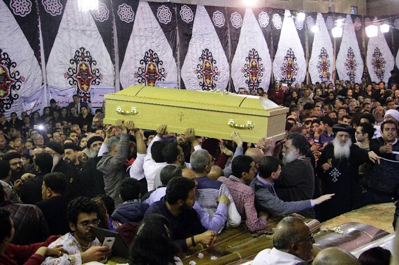 Dozens died in a 2017 Easter attack in Egypt claimed by the IS group