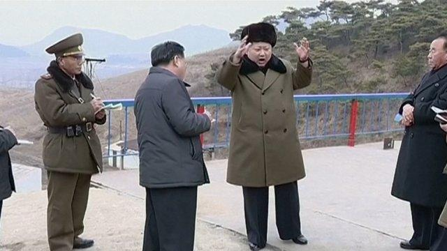 Kim Jong-un oversees North Korea's high-thrust rocket engine test