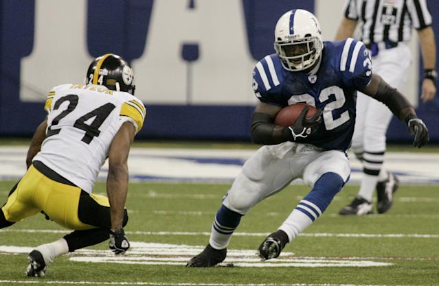 Edgerrin James rushed for more than 12,000 yards in 11 NFL seasons. (AP)