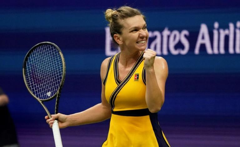 Romania's Simona Halep is among three top women's stars with two Grand Slam titles who haven't been able to capture one on hardcourts at the US or Australian Opens (AFP/TIMOTHY A. CLARY)