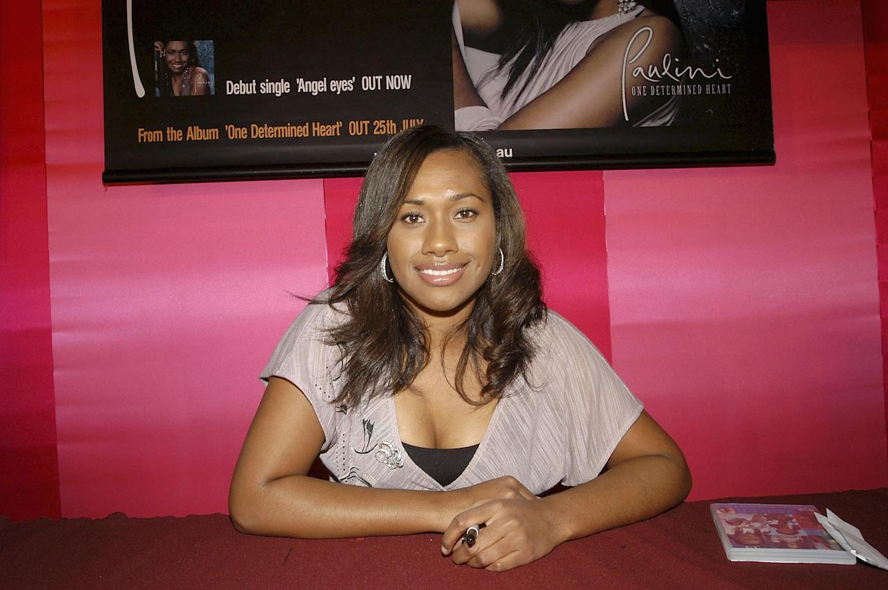 <p>Paulini shot to fame after appearing in Australian Idol back in 2003.</p>