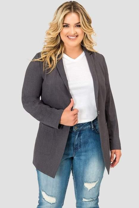 """<br><br><strong>Standards & Practices</strong> Boyfriend Blazer, $, available at <a href=""""https://go.skimresources.com/?id=30283X879131&url=https%3A%2F%2Fcoedition.com%2Fcollections%2Fclothing-blazers%2Fproducts%2Fboyfriend-blazer-charcoal-gray"""" rel=""""nofollow noopener"""" target=""""_blank"""" data-ylk=""""slk:CoEdition"""" class=""""link rapid-noclick-resp"""">CoEdition</a>"""