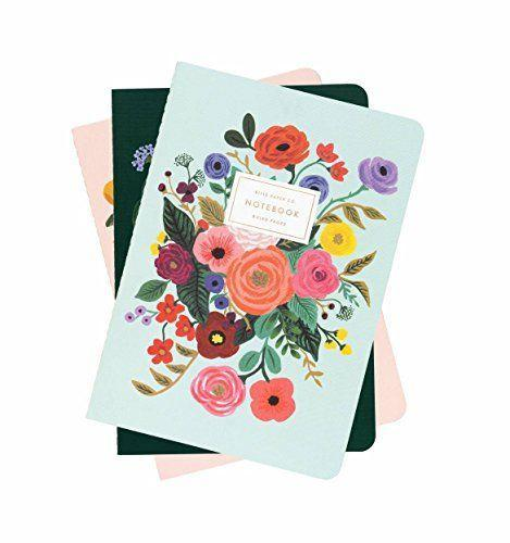 """<p><strong>Plus Rifle Paper Co.</strong></p><p>amazon.com</p><p><strong>$16.88</strong></p><p><a href=""""http://www.amazon.com/dp/B07DT5PJ9G/?tag=syn-yahoo-20&ascsubtag=%5Bartid%7C10072.g.27310718%5Bsrc%7Cyahoo-us"""" rel=""""nofollow noopener"""" target=""""_blank"""" data-ylk=""""slk:SHOP NOW"""" class=""""link rapid-noclick-resp"""">SHOP NOW</a></p><p>This springy set is thin enough to pack in your purse so you never have to go far without a place to jot down your thoughts.</p>"""