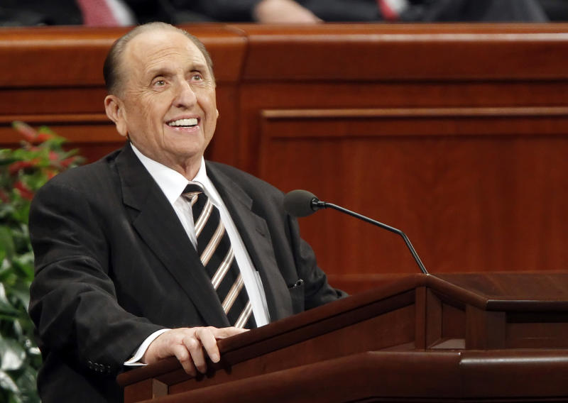 Thomas S. Monson, the President of the Mormon Church, Has Died at 90
