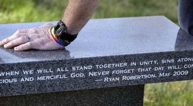 Ryan's sexual orientation didn't change, and he became addicted to drugs and eventually died of an overdose. Photo: AP