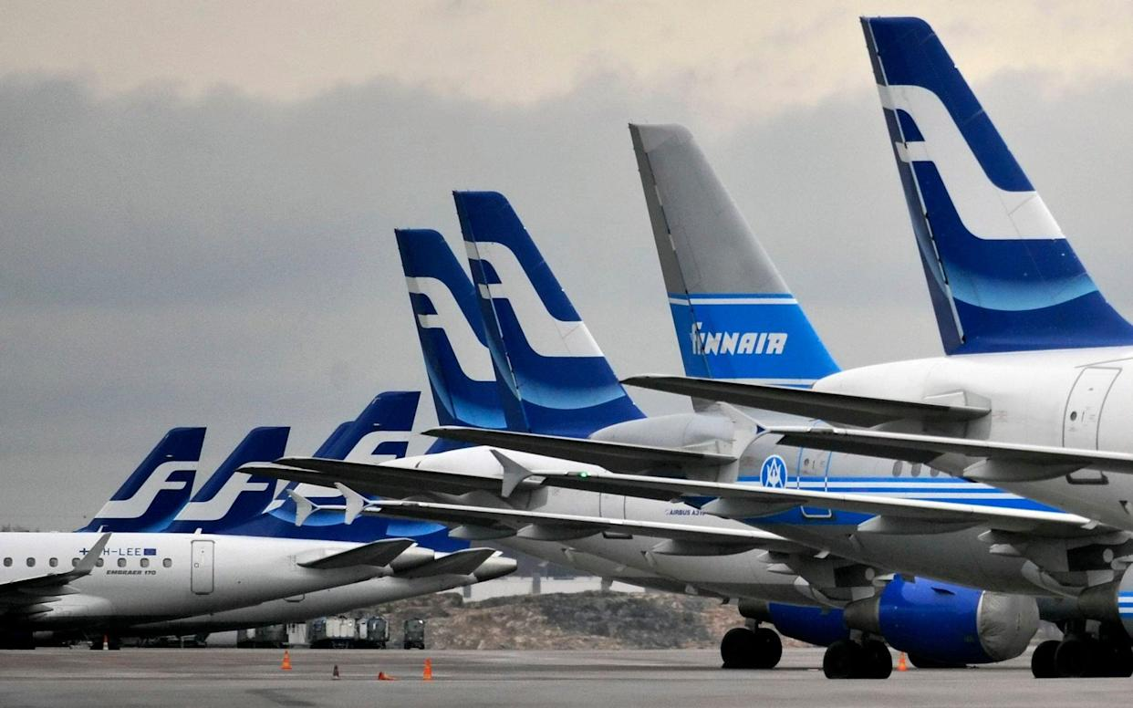 FinnAir's airline meals have sold out within hours to those desperate to get a taste of flying again - Markku Ulander/Lehtikuva