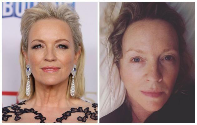 Australian actress Rebecca Gibney is also one to encourage us to embrace our natural beauty. Source: Getty