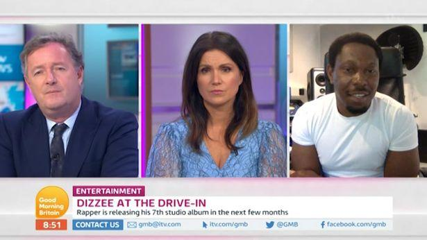 Dizzee Rascal refused to be stereotyped by Piers Morgan on 'GMB'. (ITV)