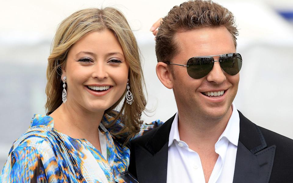 Nick Candy and Holly Valance - Getty